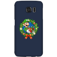 Nintendo Super Mario Luigi Present Phone Case for iPhone and Android - Samsung S6 - Snap Case - Gloss - Present Gifts