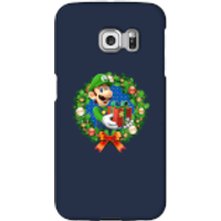 Nintendo Super Mario Luigi Present Phone Case for iPhone and Android - Samsung S6 Edge - Snap Case - Gloss - Present Gifts