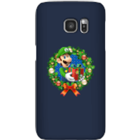 Nintendo Super Mario Luigi Present Phone Case for iPhone and Android - Samsung S7 - Snap Case - Gloss - Present Gifts