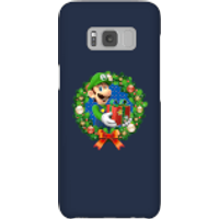 Nintendo Super Mario Luigi Present Phone Case for iPhone and Android - Samsung S8 - Snap Case - Gloss - Present Gifts