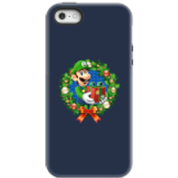 Nintendo Super Mario Luigi Present Phone Case for iPhone and Android - iPhone 5/5s - Tough Case - Gloss - Present Gifts