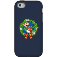 Nintendo Super Mario Luigi Present Phone Case for iPhone and Android - iPhone 5C - Tough Case - Gloss - Present Gifts