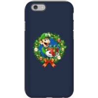 Nintendo Super Mario Luigi Present Phone Case for iPhone and Android - iPhone 6 - Tough Case - Gloss - Present Gifts