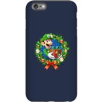 Nintendo Super Mario Luigi Present Phone Case for iPhone and Android - iPhone 6 Plus - Tough Case - Gloss - Present Gifts