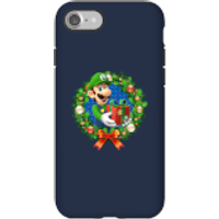 Nintendo Super Mario Luigi Present Phone Case for iPhone and Android - iPhone 7 - Tough Case - Gloss - Present Gifts