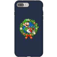Nintendo Super Mario Luigi Present Phone Case for iPhone and Android - iPhone 7 Plus - Tough Case - Gloss - Present Gifts