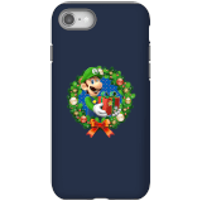 Nintendo Super Mario Luigi Present Phone Case for iPhone and Android - iPhone 8 - Tough Case - Gloss - Present Gifts