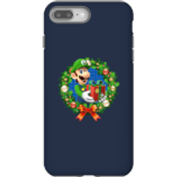 Nintendo Super Mario Luigi Present Phone Case for iPhone and Android - iPhone 8 Plus - Tough Case - Gloss - Present Gifts