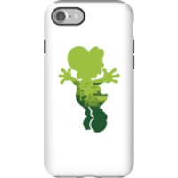 Nintendo Super Mario Yoshi Silhouette Phone Case - iPhone 7 - Tough Case - Gloss