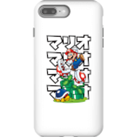 Nintendo Super Mario Piranha Plant Japanese Phone Case - iPhone 8 Plus - Tough Case - Matte