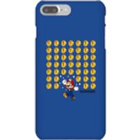 Funda móvil Nintendo Super Mario Monedas para iPhone y Android - iPhone 7 Plus - Carcasa rígida - Mate