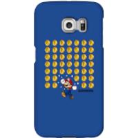 Funda móvil Nintendo Super Mario Monedas para iPhone y Android - Samsung S6 Edge Plus - Carcasa rígida - Brillante