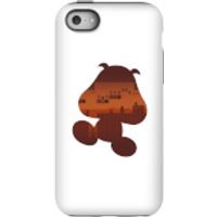 Nintendo Super Mario Goomba Silhouette Phone Case - iPhone 5C - Tough Case - Matte