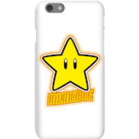 Nintendo Super Mario Invincible Phone Case - iPhone 6S - Snap Case - Matte