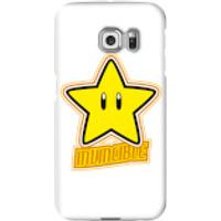 Nintendo Super Mario Invincible Phone Case - Samsung S6 Edge - Snap Case - Gloss
