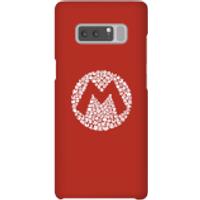 Funda móvil Nintendo Mario Logo para iPhone y Android - Samsung Note 8 - Carcasa rígida - Mate