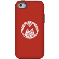 Nintendo Super Mario Mario Items Logo Phone Case - iPhone 5C - Tough Case - Matte