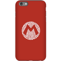 Nintendo Super Mario Mario Items Logo Phone Case - iPhone 6 Plus - Tough Case - Matte