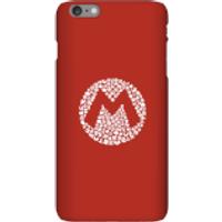 Funda móvil Nintendo Mario Logo para iPhone y Android - iPhone 6 Plus - Carcasa rígida - Brillante