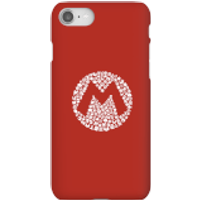 Nintendo Super Mario Mario Items Logo Phone Case - iPhone 8 - Snap Case - Gloss