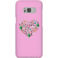 Pixel Sprites Heart Phone Case - Samsung S8 - Snap Case - Matte - Heart Gifts