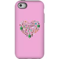 Pixel Sprites Heart Phone Case - iPhone 5C - Tough Case - Matte - Heart Gifts