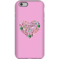 Pixel Sprites Heart Phone Case - iPhone 6S - Tough Case - Matte - Heart Gifts