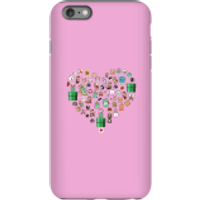 Pixel Sprites Heart Phone Case - iPhone 6 Plus - Tough Case - Matte - Heart Gifts