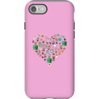 Pixel Sprites Heart Phone Case - iPhone 7 - Tough Case - Matte - Heart Gifts