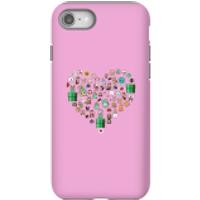 Pixel Sprites Heart Phone Case - iPhone 8 - Tough Case - Matte - Heart Gifts
