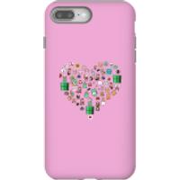 Pixel Sprites Heart Phone Case - iPhone 8 Plus - Tough Case - Matte - Heart Gifts