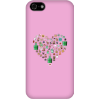 Pixel Sprites Heart Phone Case - iPhone 5C - Snap Case - Gloss - Heart Gifts