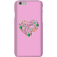 Pixel Sprites Heart Phone Case - iPhone 6 - Snap Case - Gloss - Heart Gifts