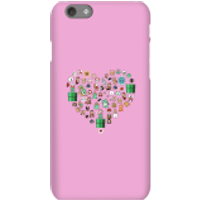 Pixel Sprites Heart Phone Case - iPhone 6S - Snap Case - Gloss - Heart Gifts