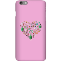 Pixel Sprites Heart Phone Case - iPhone 6 Plus - Snap Case - Gloss - Heart Gifts