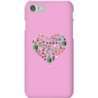 Pixel Sprites Heart Phone Case - iPhone 7 - Snap Case - Gloss - Heart Gifts