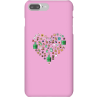 Pixel Sprites Heart Phone Case - iPhone 7 Plus - Snap Case - Gloss - Heart Gifts