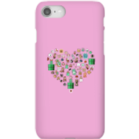 Pixel Sprites Heart Phone Case - iPhone 8 - Snap Case - Gloss - Heart Gifts