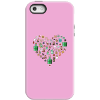 Pixel Sprites Heart Phone Case - iPhone 5/5s - Tough Case - Gloss
