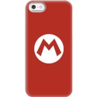 Funda móvil Nintendo Mario Logo para iPhone y Android - iPhone 5/5s - Carcasa rígida - Mate