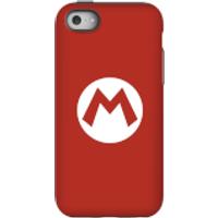 Funda móvil Nintendo Mario Logo para iPhone y Android - iPhone 5C - Carcasa doble capa - Mate