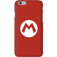Nintendo Super Mario Mario Logo Phone Case - iPhone 6 - Snap Case - Gloss
