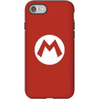 Funda móvil Nintendo Mario Logo para iPhone y Android - iPhone 7 - Carcasa doble capa - Brillante
