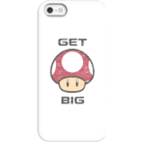 Nintendo Super Mario Get Big Mushroom Phone Case - iPhone 5/5s - Snap Case - Matte - Mushroom Gifts