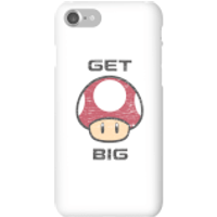 Nintendo Super Mario Get Big Mushroom Phone Case - iPhone 7 - Snap Case - Matte - Mushroom Gifts