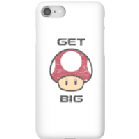 Nintendo Super Mario Get Big Mushroom Phone Case - iPhone 8 - Snap Case - Matte - Mushroom Gifts