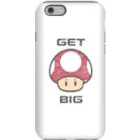 Nintendo Super Mario Get Big Mushroom Phone Case - iPhone 6S - Tough Case - Matte - Mushroom Gifts