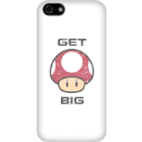 Nintendo Super Mario Get Big Mushroom Phone Case - iPhone 5C - Snap Case - Gloss