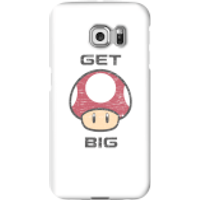 Nintendo Super Mario Get Big Mushroom Phone Case - Samsung S6 Edge - Snap Case - Gloss - Mushroom Gifts