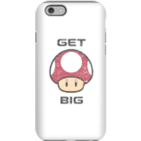 Nintendo Super Mario Get Big Mushroom Phone Case - iPhone 6 - Tough Case - Gloss - Mushroom Gifts
